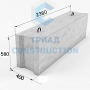 Фундаментный блок ФБС24.4.6-Т
