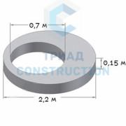 Плита перекрытия 1ПП20-1